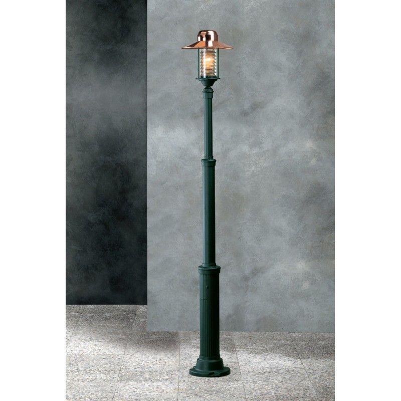 Garden Light Futura Cuprum Lamp Post Green 95018 Cu Nv Free Delivery Luminaires Jardin Luminaire Jardins