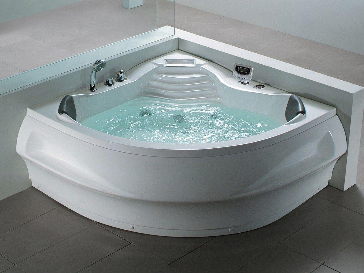 Whirlpool bath tub St. Tropez with 14 massage jets + heating + Ozone ...