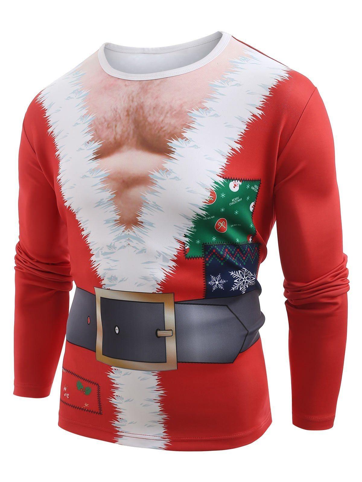 Christmas Fashionable T Shirt,for Men,S