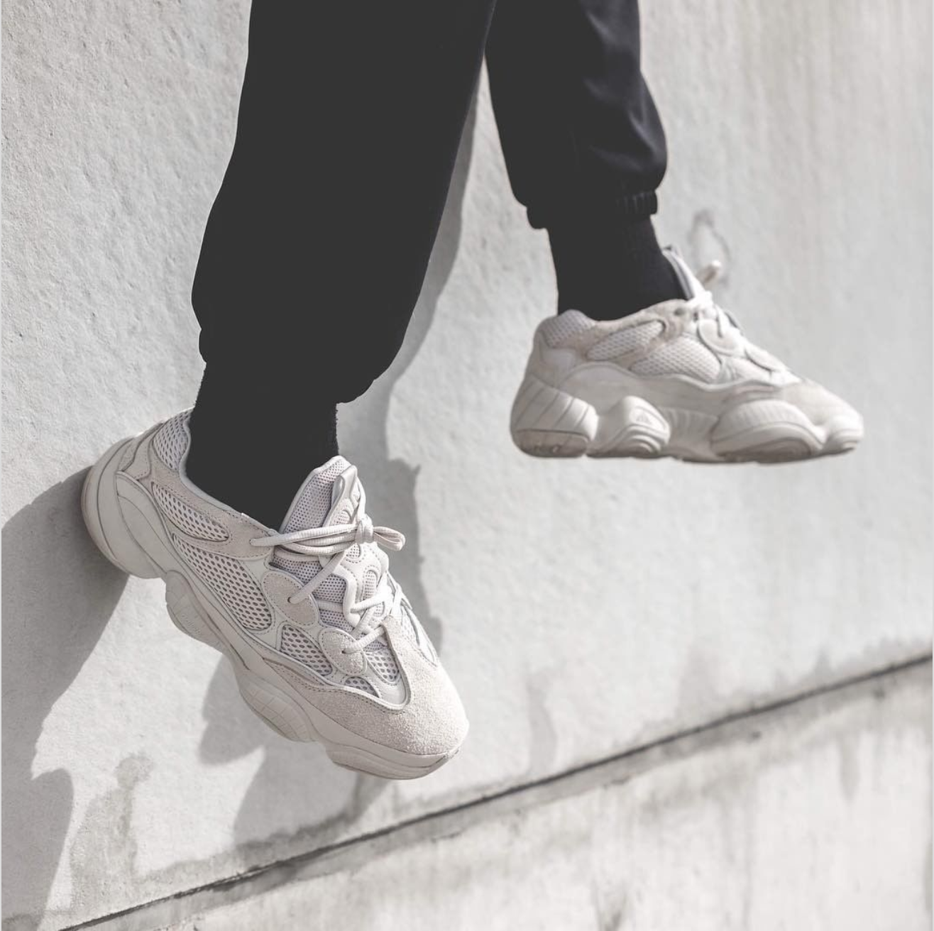 hot sale online 9beae 21253 adidas Yeezy 500 'Desert Rat' - Sneaker Myth | ALBUM ART in ...