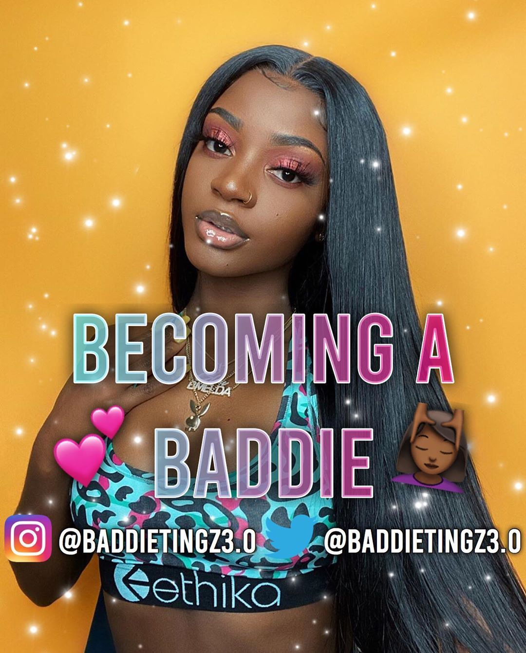 "Dm for cheap promos 💰 on Instagram: ""Becoming a baddie💖} ————— Follow @baddietingz3.0 💖 ————— Like and comment 💖 ————— • • • • • • • • #baddie #baddieedits #baddieaudios…"""