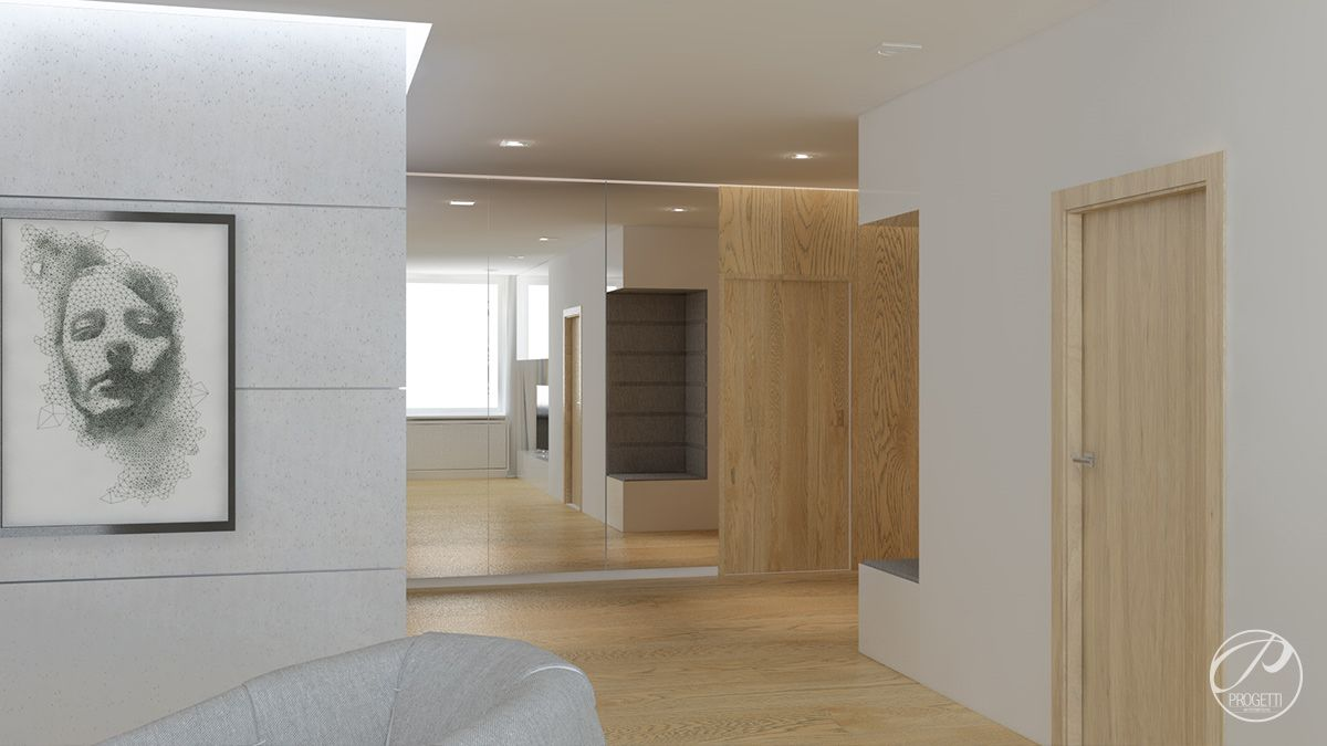 Modernizacja mieszkania w praskiej kamienicy | Progetti Architektura