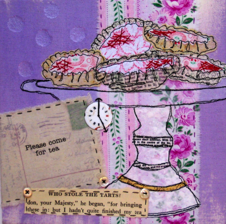 Ali Ferguson - Textiles, mixed media, vintage treasures, machine & hand stitch