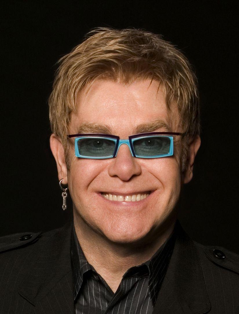 Elton John tonite! I'm...