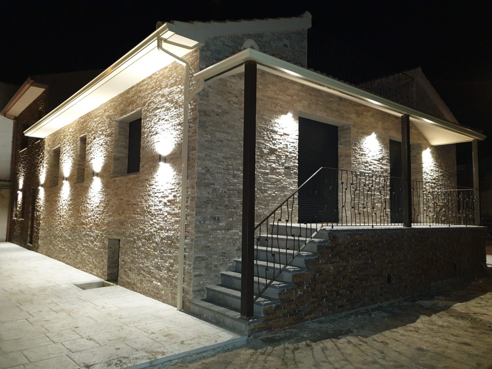 Casas De Piedra Arenisca