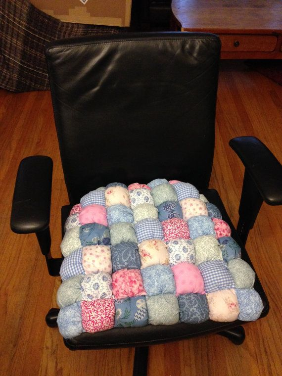 Custom Biscuit Quilted Chair Cushion Deluxe Model Made to – Etsy Chair Cushions