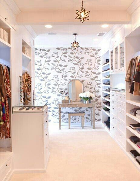 Cabina armadio | Idee di design, Idee per la casa, Design