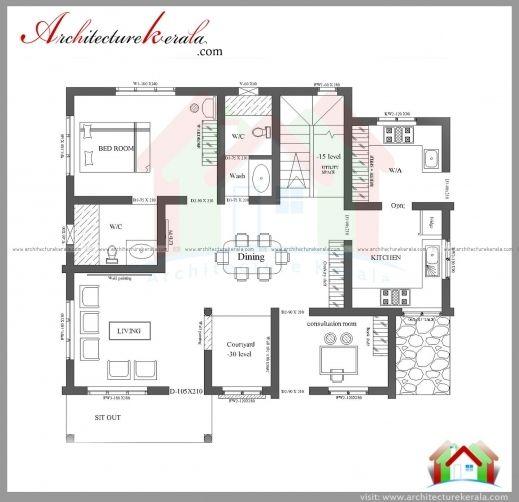 Nalukettu Model Houses Plans In Kerala New House Plans House Plans Model House Plan