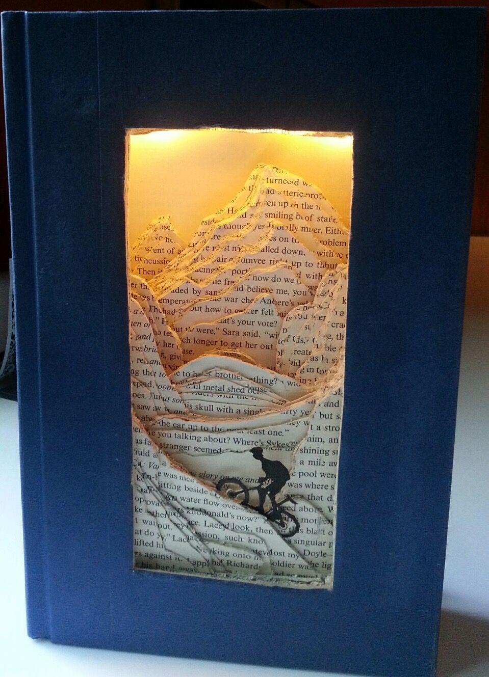 #DIY #Deko und #Beleuchtung in einem. #bookspapersandthings
