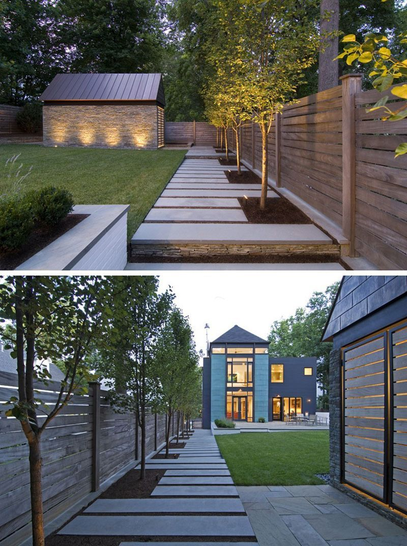 Landscaping Ideas For The Front Yard Better Homes And Gardens Onbudget Landscaping Lowmaintenan Modern Landscaping Modern Landscape Design Modern Backyard