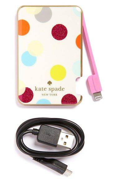 half off 57aca 73893 kate spade new york slim portable charger available at #Nordstrom ...