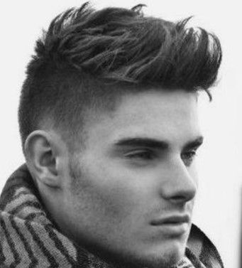 7 best mens short hairstyles sides long top  men haircut