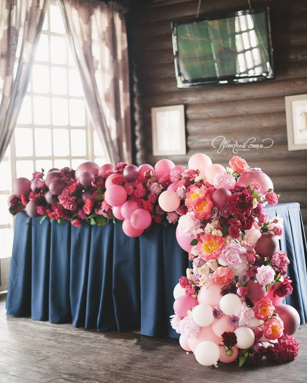Where can you buy balloon arch kits in delaware - Balloon And Floral Garland Gorgeous Art_petrov