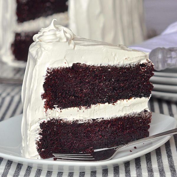 Black and white raspberry cake recipe