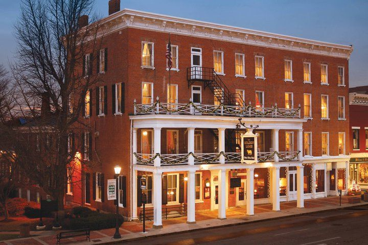 The Golden Lamb Ohio S Oldest Inn Has Been A Chosen Hotel For