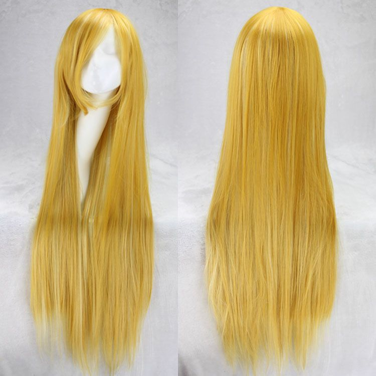 Fashion 100cm wigs long straight cosplay 21 colors wig