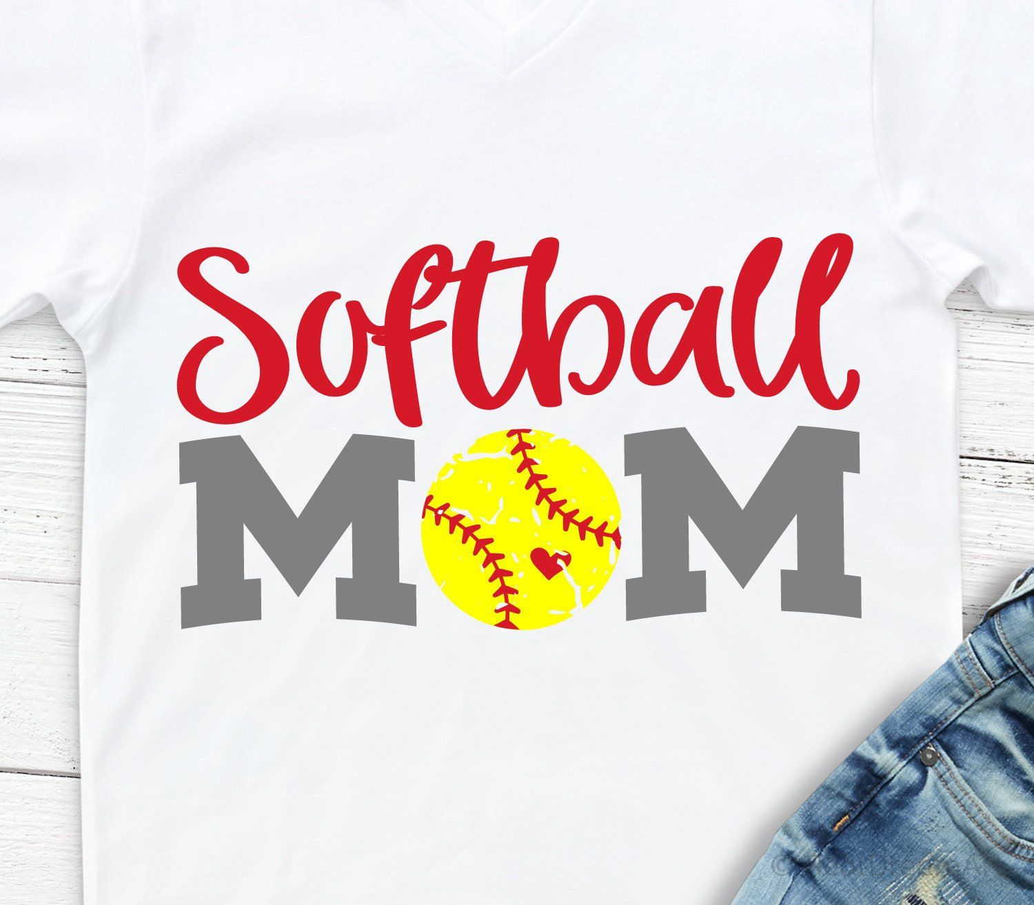 Softball Mom Svg, Softball Svg, Softball Mama Svg, Your