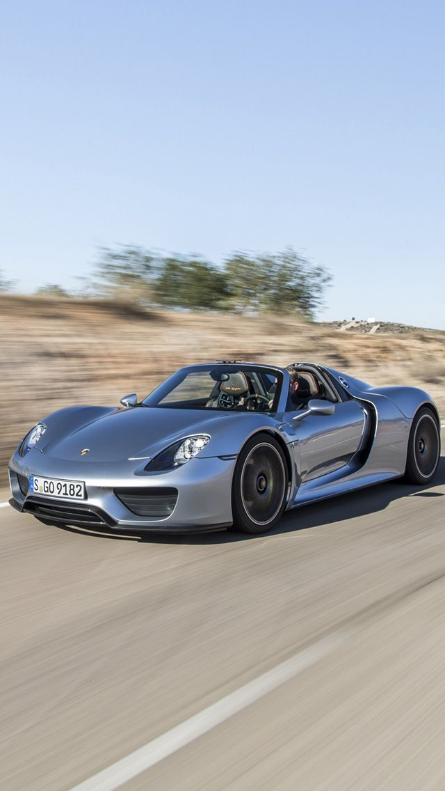 Porsche 918 Spyder IPhone 5 Wallpaper