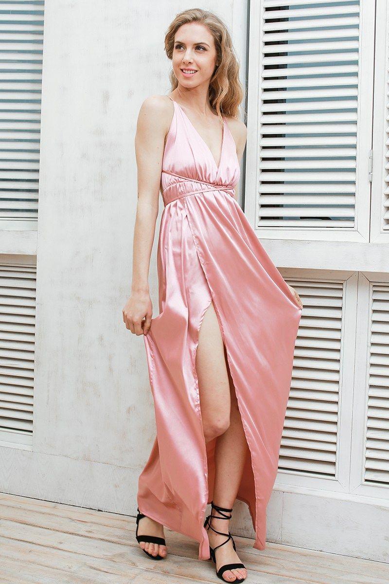 Ella Slip Maxi Dress | Falda, Blusas y Vestiditos