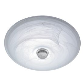 Harbor Breeze 70 CFM Chrome Bathroom Fan With Light
