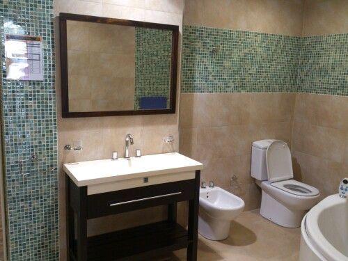 dise os ba os venecitas y ceramica blanca buscar con On diseño de guardas en baños