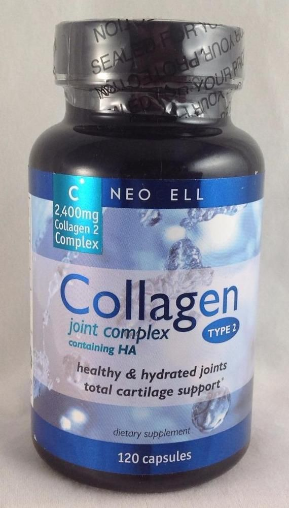 Neocell Collagen Type 2 Joint Complex 120 Caps New & Sealed