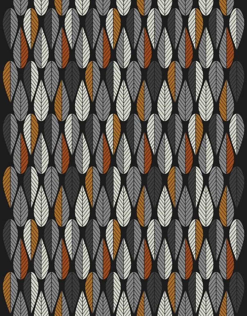 Leaf Print Fabric Scandinavian Fabric Upholstery Fabric Swedish Fabric Curtain Fabric Canvas Fabric Home Decor Fabric In 2020 Scandinavian Fabric Upholstery Fabric Printing On Fabric