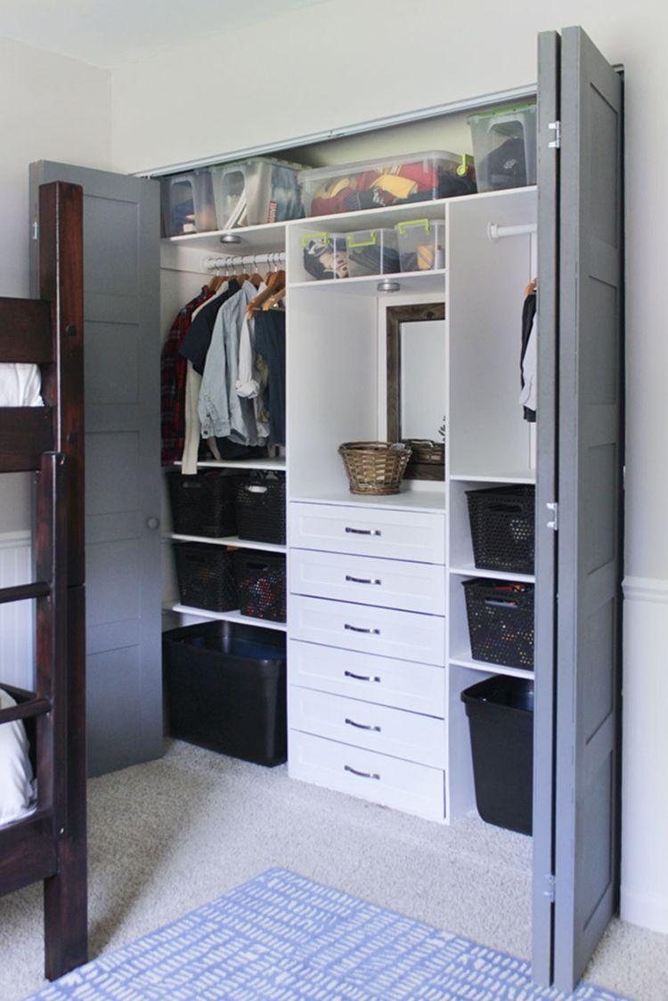 Lovely Build This Terrific Small Closet Organizer