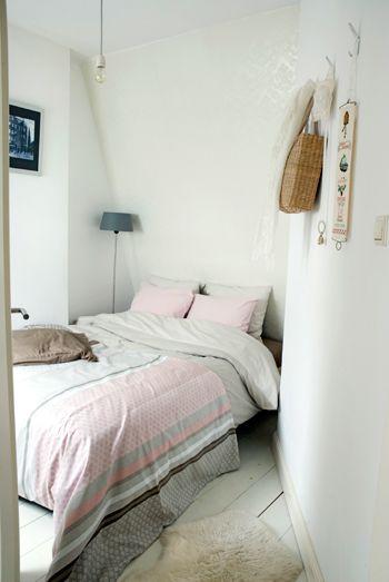 Kleine slaapkamer ideeen. Gevonden via google | Dingen die ik leuk ...