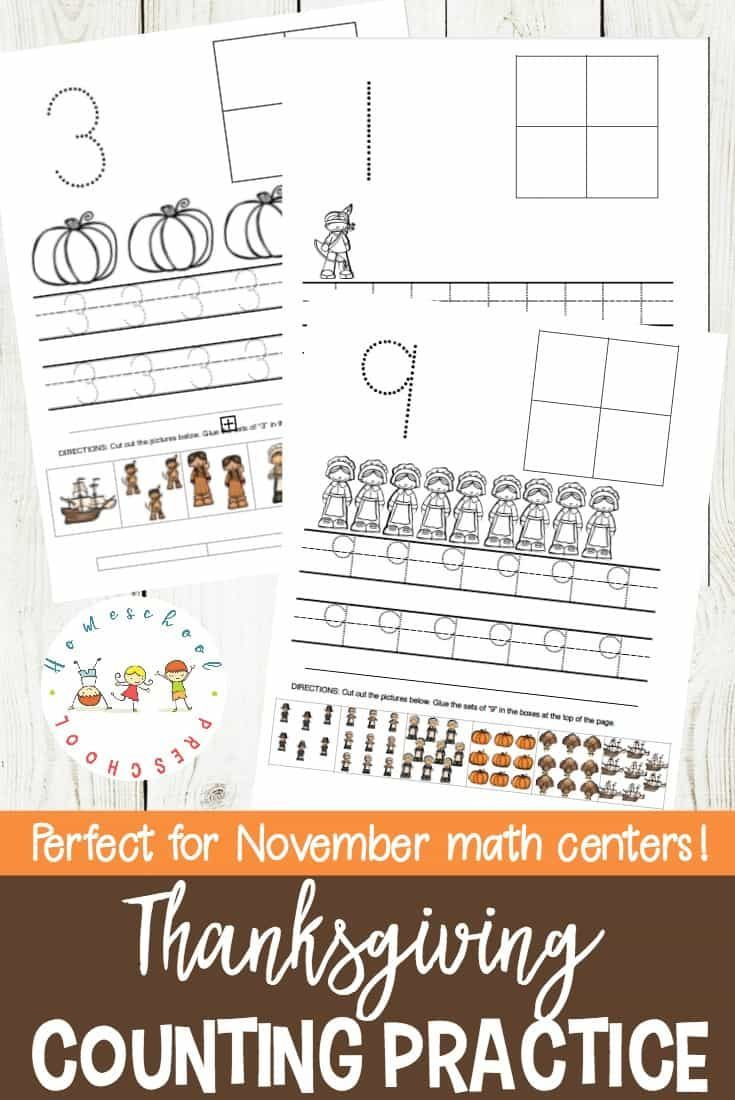 These preschool number practice sheets are perfect for any ...