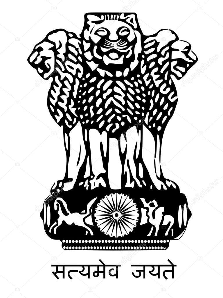 National Emblem Images National Emblem Of India Quick Gk Indian Flag Wallpaper Indian Flag Postcard