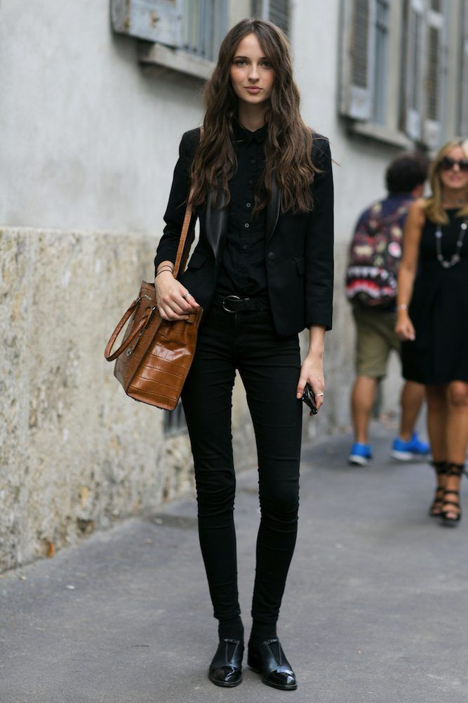 How to dress in all black without looking goth