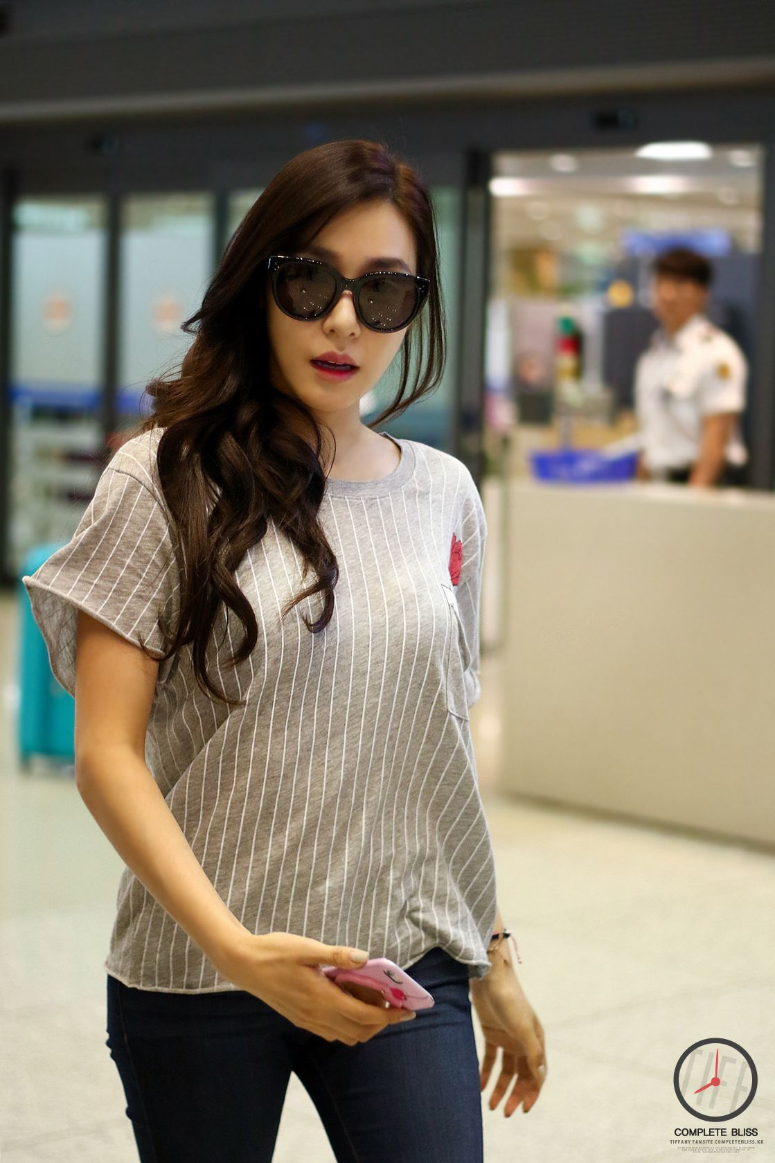 snsd tiffany airport fashion 150818 2015 snsd airport