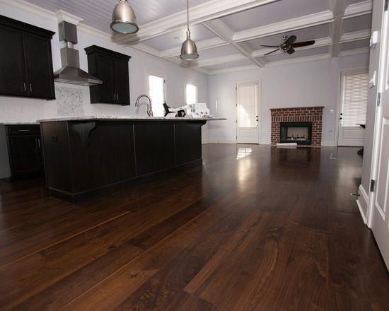 8 Site Finished Character Grade Black Walnut Plank Flooring By Oak Broad Hardwood Floors Modern Wood Floors Wood Floors Wide Plank