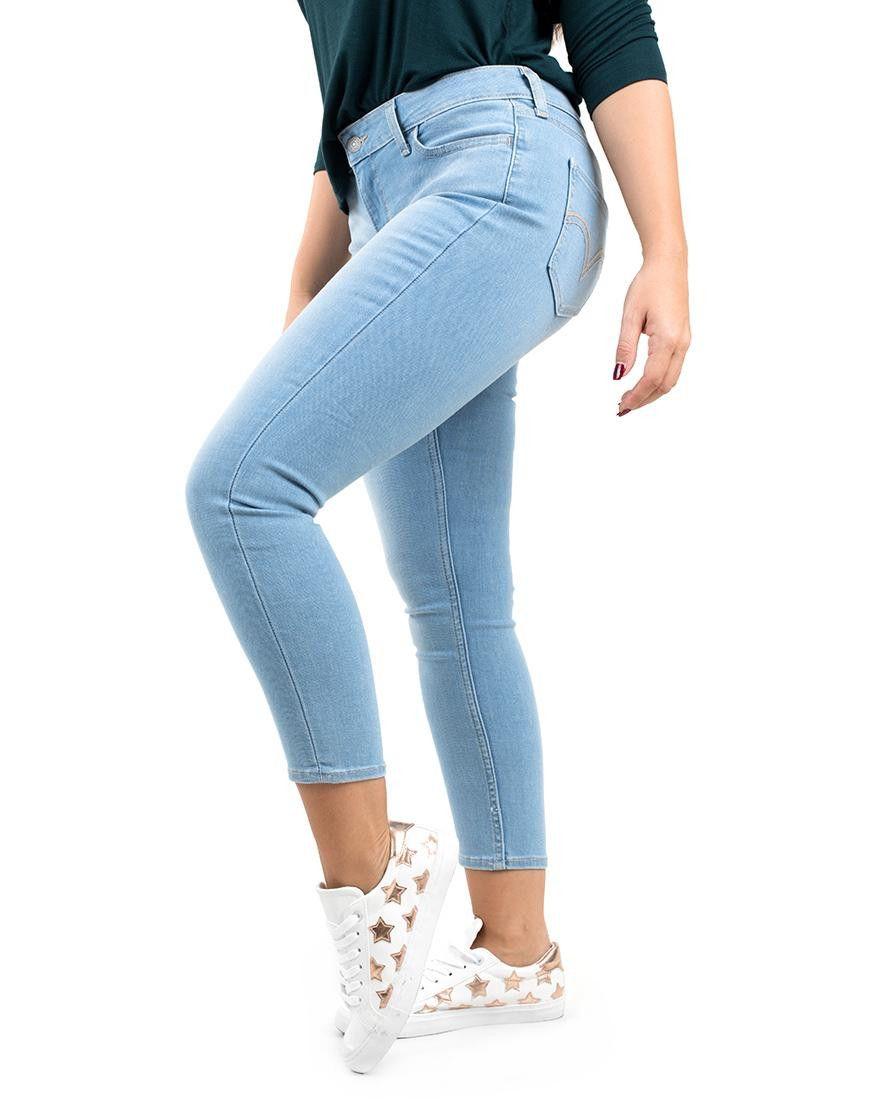 535 Pantalon Azul Claro De Mujer Levi S Ropa Levis Jeans Pantalon Azul