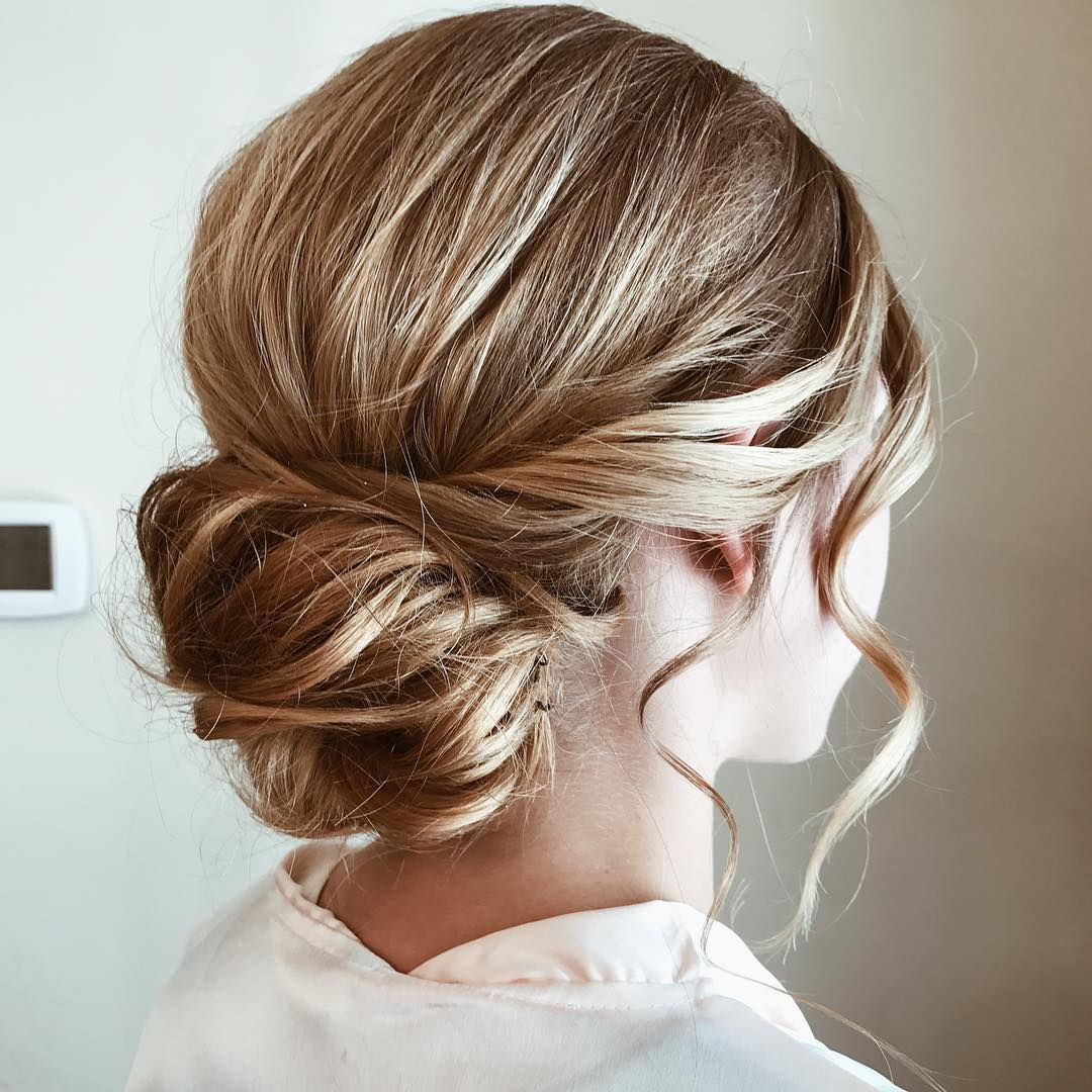 Classic Wedding Updo Hairstyle Inspiration Wedding Hairstyles