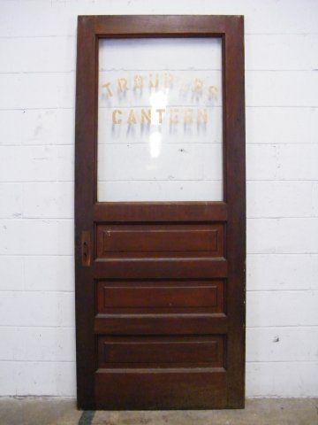 Columbus Architectural Salvage Half Lite Interior Door