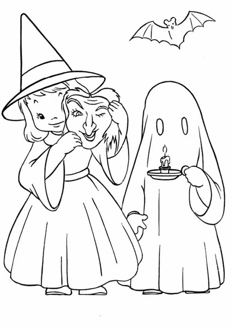 Halloween Ausmalbilder Halloween Zenideen Kleurplaten Halloween Seizoenen