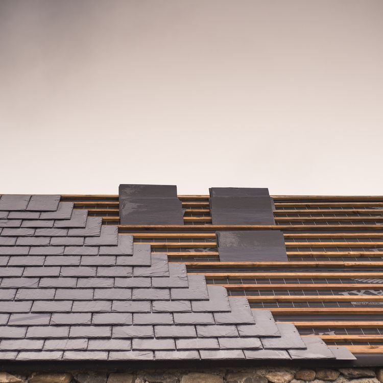 12 Roofing Materials To Consider For Your House Synthetic Slate Synthetic Slate Roofing Slate Roof