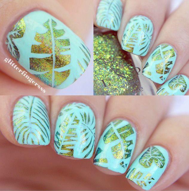 diseño de #uñas para #verano // #summer #nailart #nails | Nails ...
