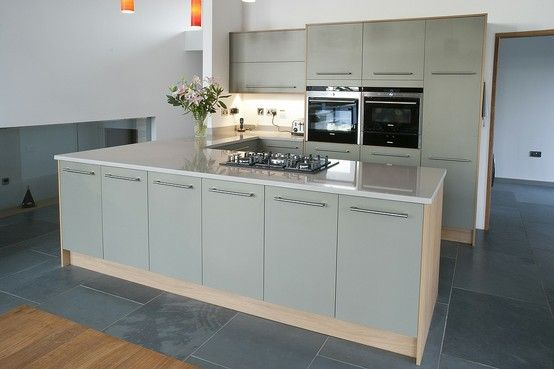 System 6 kitchen featuring egger u631 st9 olive with h3368 for F kitchen lancaster