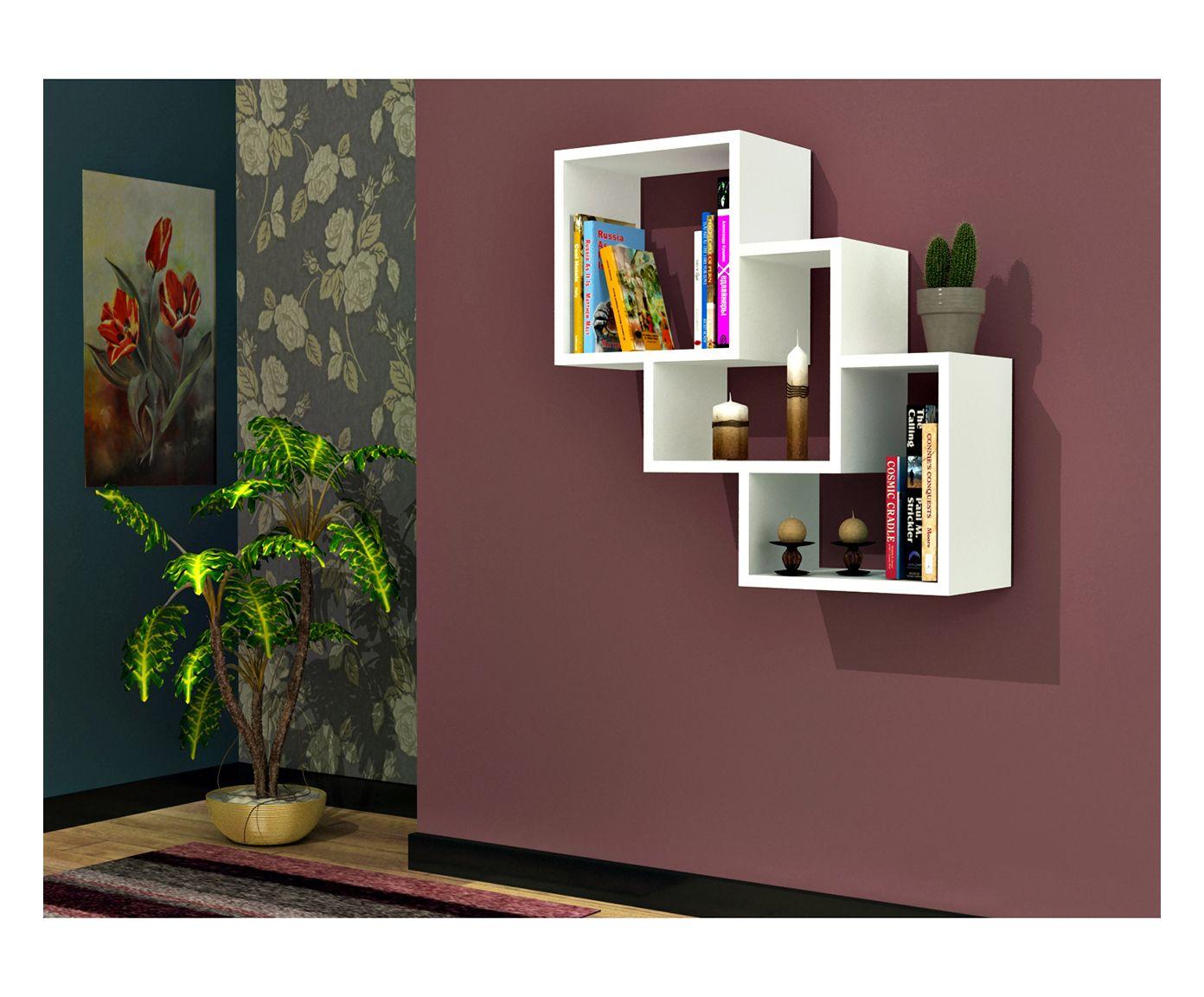 Mensola con 3 scomparti Three Box, 20x58x58 cm | Dalani Home & Living