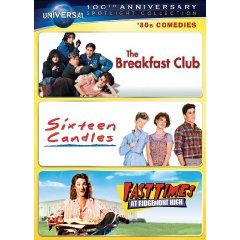 Sixteen Candles The Breakfast Club Fast Times At Ridgemont High Collection Movies Good Movies Comedy
