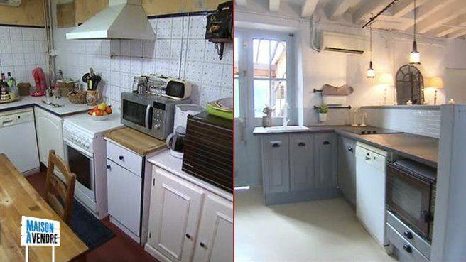 Francois sandrine cuisine r novation maisons et appartements cuisine rustique maison a - Renovation cuisine rustique ...