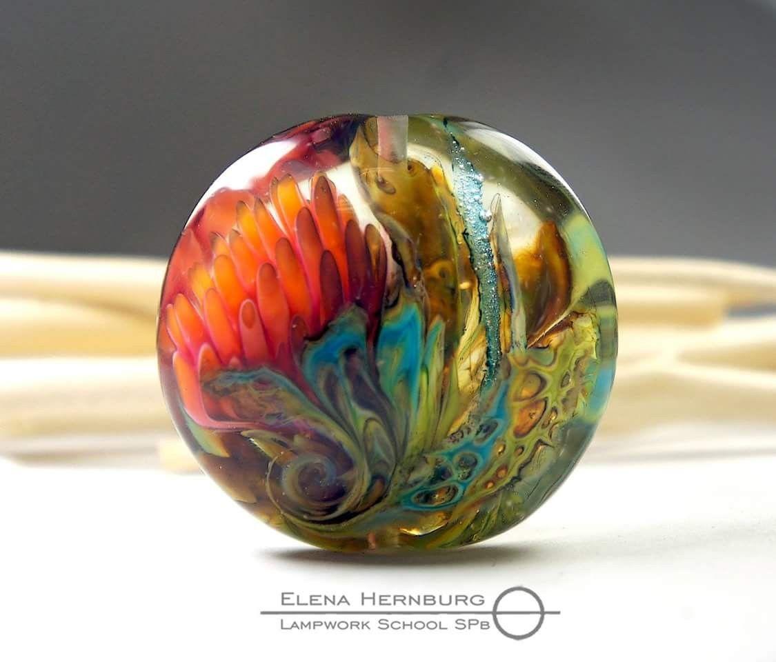sklenice na skleněné kuličky