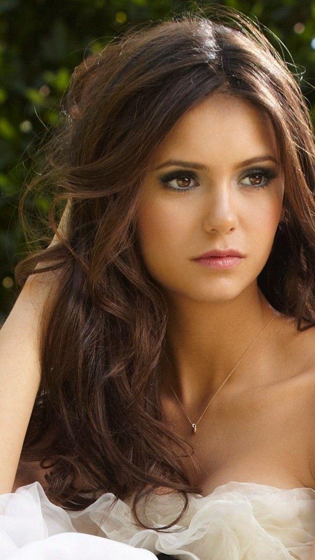 Photo of Wallpaper Nina Dobrev, Actress, television star, brunette, model, gymnast, look, …