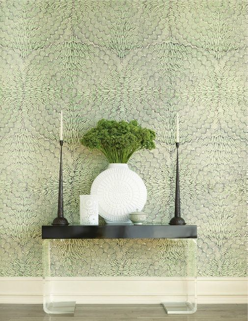 The Feather Bloom pattern, inspired by floral motifs, will bring some of the beauty of the great ...