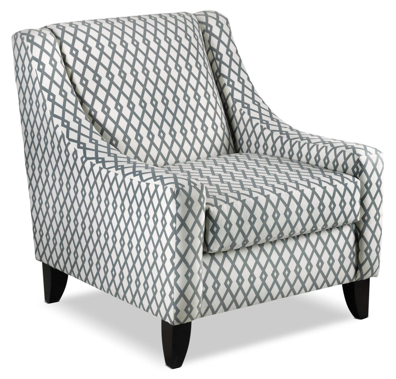 Halley Accent Chair Lattice Slate Sofa Bed With Chaise