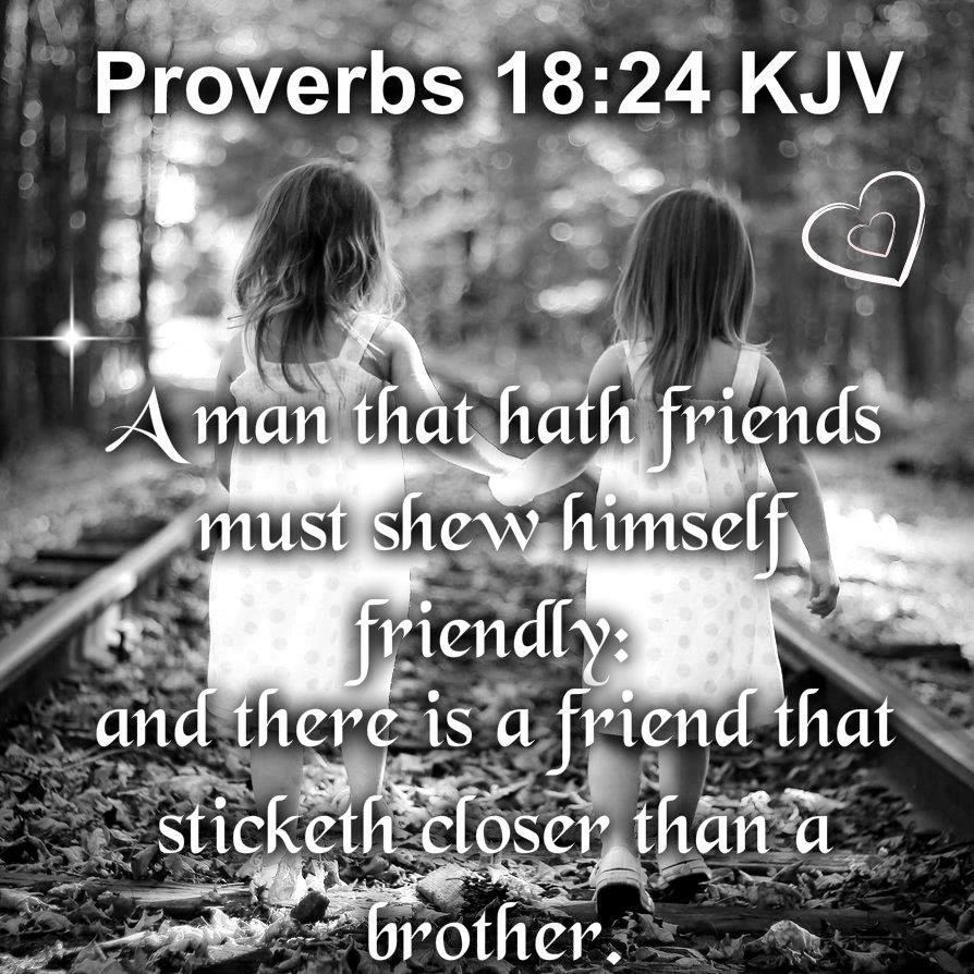 Jesus- a friend who sticks closer than a brother! | Saved by