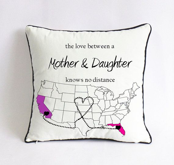 Long Distance Mom Daughter Pillowcase Birthday By Pillow6218